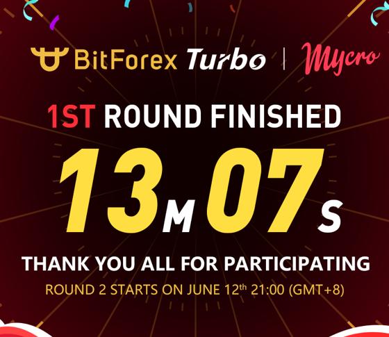Mycro's MYO Token Sale on BitForex Turbo Sells Out