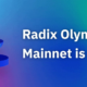 Keeping an Eye on the Future of DeFi, Radix Launches Mainnet